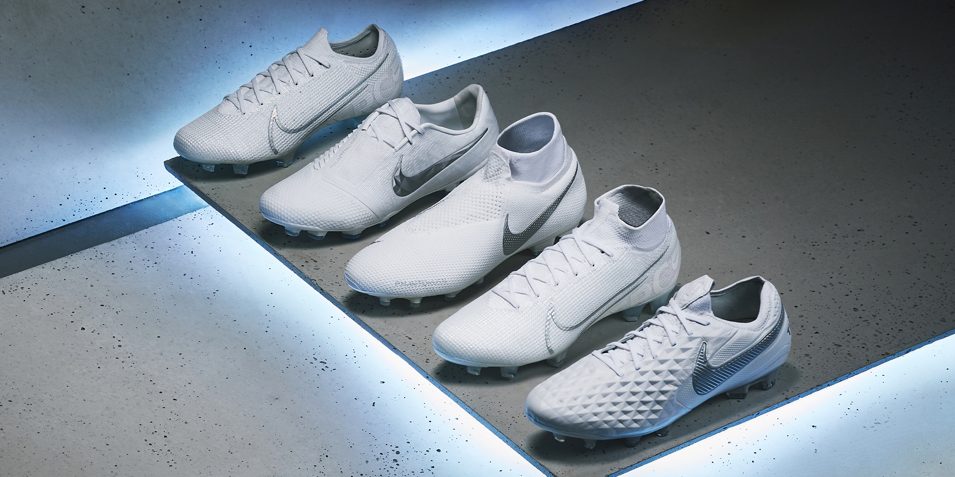 """A Nike tiszta fehér focicipőkkel kezdi az őszt – Nike """"Nuovo White"""" pack"""